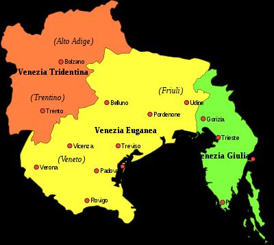 Cartina Fisica Del Friuli Venezia Giulia.Note Alla Gita Del 23 Aprile In Venezia Giulia Colfranculana